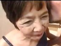 七十路のおばあちゃんが可愛く喘ぐ高齢熟女のセックス