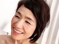 六十路の癒し系高齢熟女が久しぶりのセックスで女の笑顔