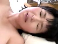 五十路の可愛い系爆乳熟女は近親相姦にハマるママ