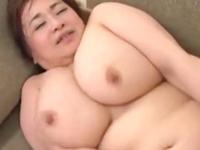 六十路のデブぽちゃ義母が全身の肉を揺らして婿とセックス