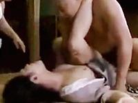 セックスだけが娯楽の田舎で犯される美しい昭和の三十路熟女