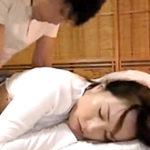 酔い潰れた義母を寝バックで犯した婿の泥酔中出しレイプ