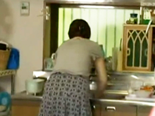 五十路の母は不良息子の性奴隷 言われるがままに服を脱ぎ性欲処理させられる熟女