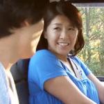 母と車で逃避行して野外で近親相姦!妻が息子と青姦で立ちバックしている