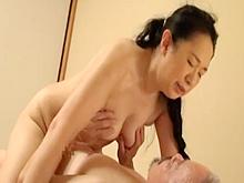 老夫婦のリアルなセックス 黙々と下半身をぶつけあう夜の営み