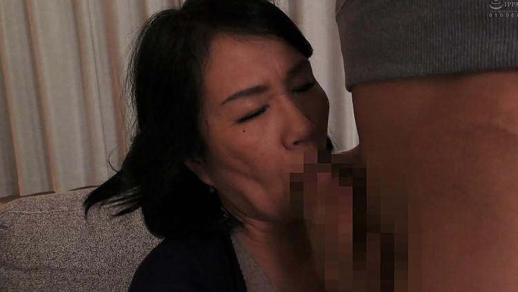 息子に襲われる母…8