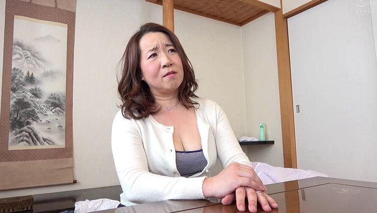 関西弁の五十路義母とセックス…1